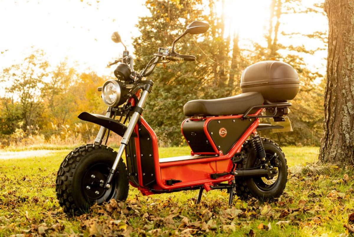 Beast 2.0: Ciclomotor eléctrico con resistencia para todo tipo de aventuras
