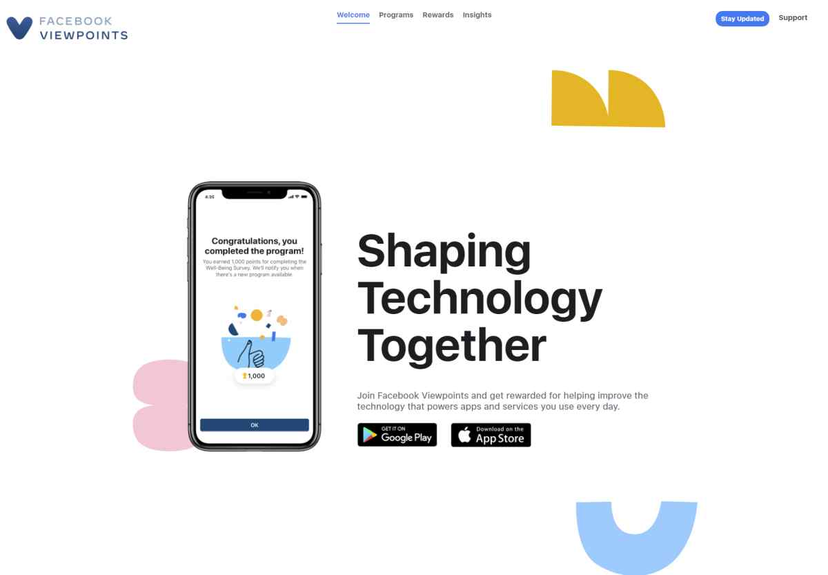 Con esta nueva app podrás ayudar a Facebook a mejorar sus servicios y ser remunerado por ello