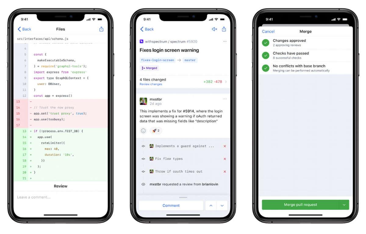 GitHub lanza una app móvil y un nuevo sistema de notificaciones