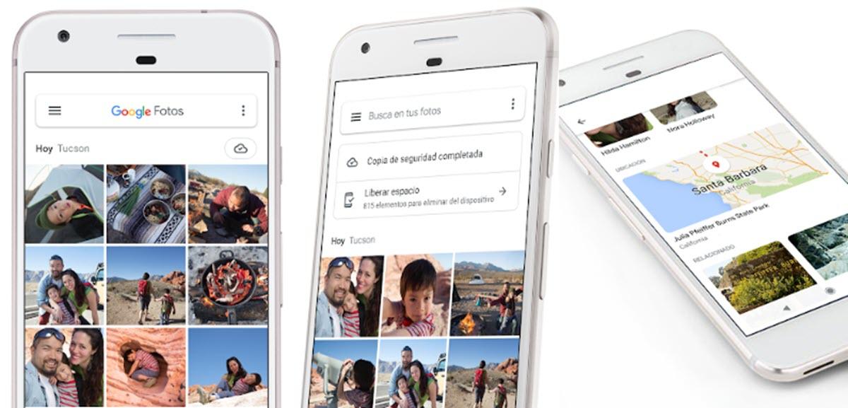 Ahora es más fácil usar Google Fotos desde Android