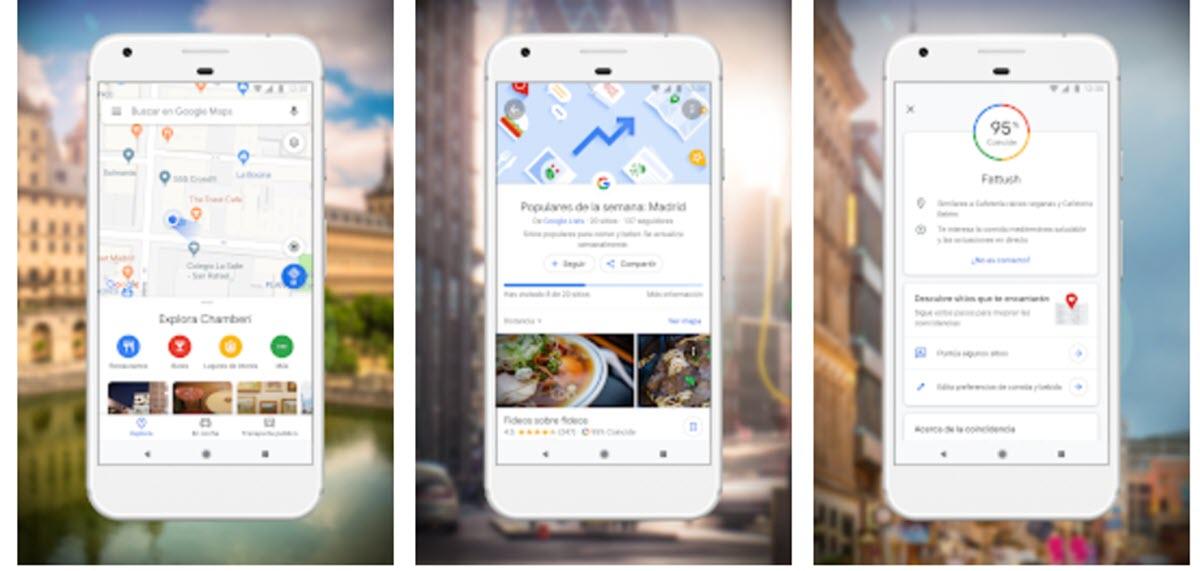 Google Maps ahora permite gestionar nuestro perfil público desde la app