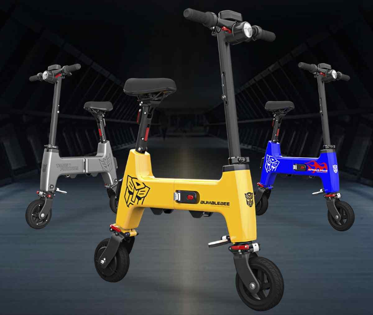 Así es Himo H1, un vehículo eléctrico que se sitúa entre patinete y bicicleta eléctrica