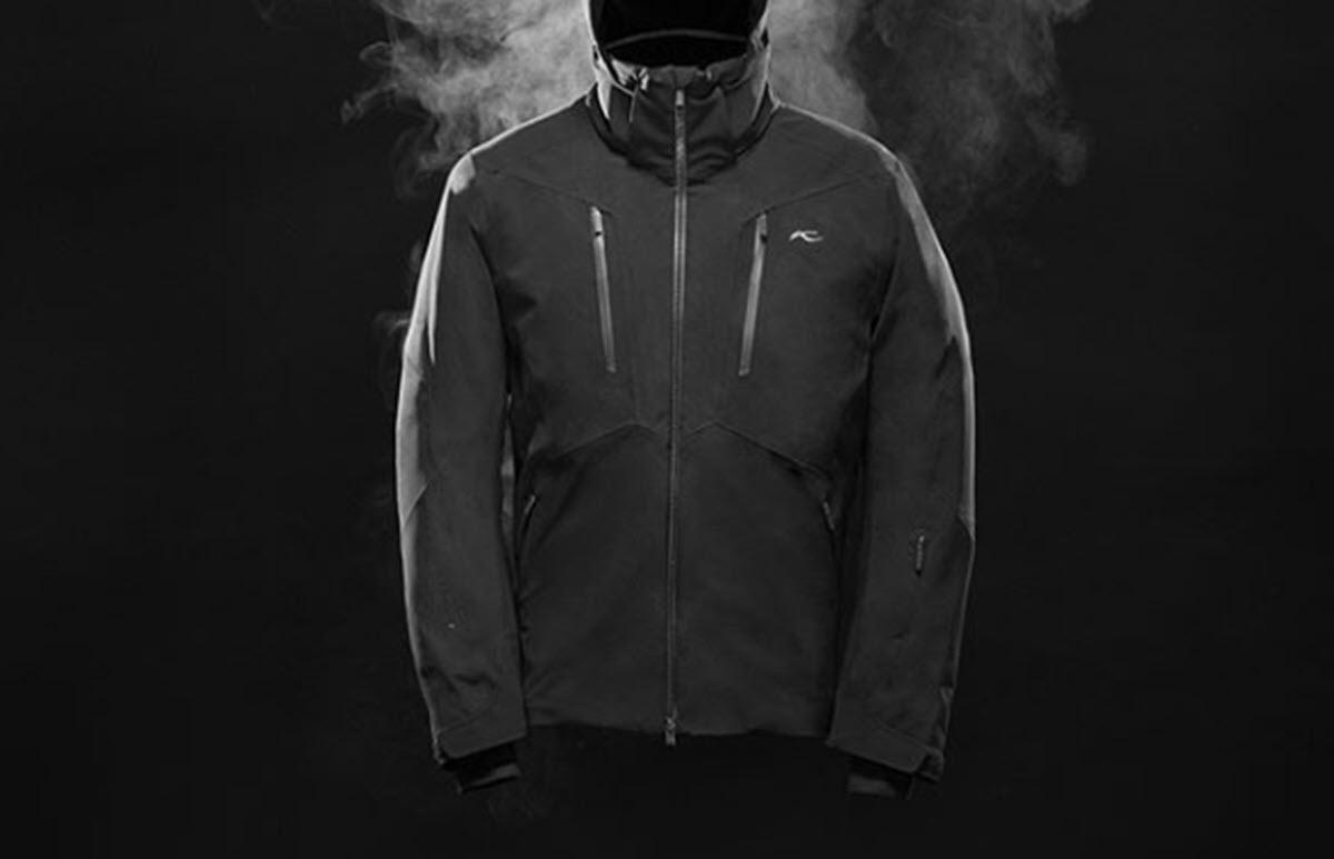 Esta chaqueta permite controlar el sudor y la humedad con un simple clic