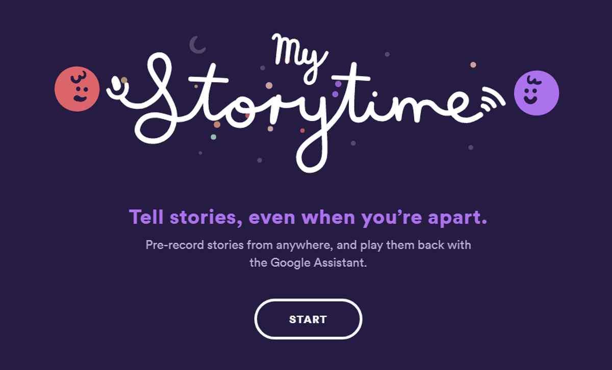 Esta plataforma te permite contar historias a tus hijos desde la distancia con el Asistente de Google