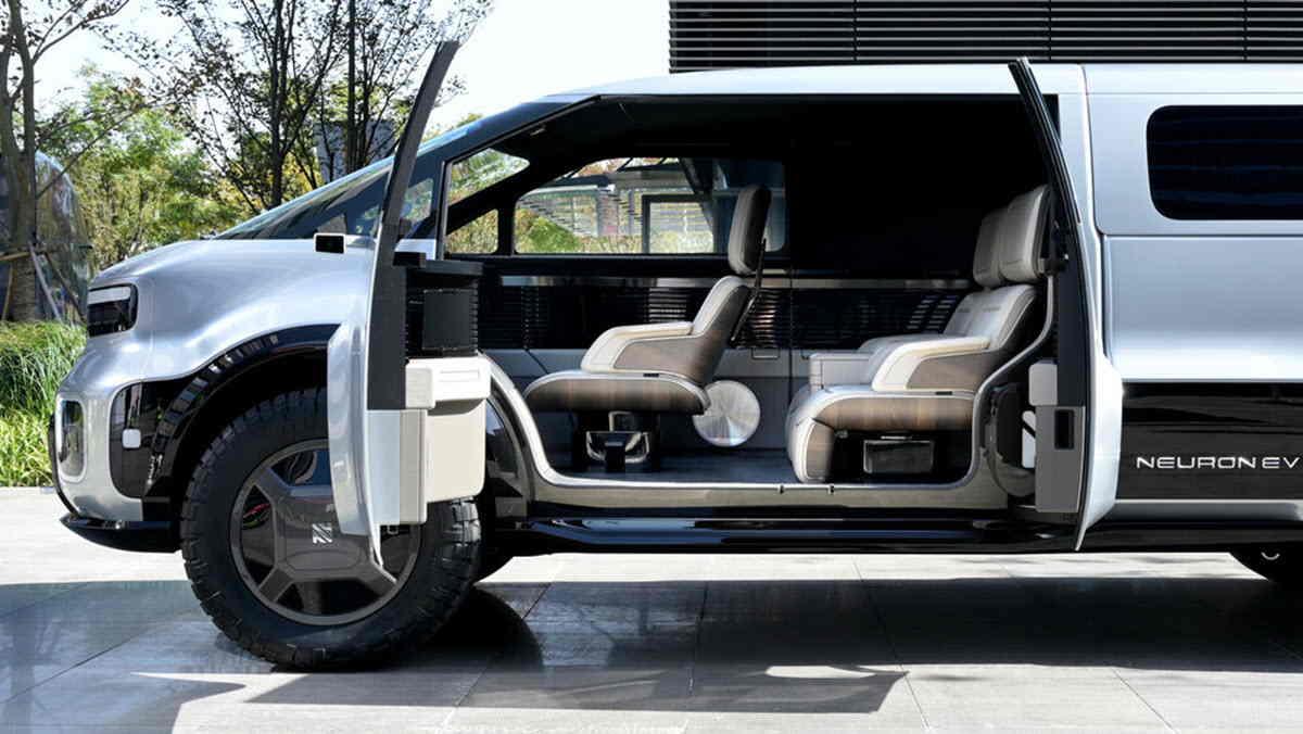 Neuron T/One, una pickup eléctrica con diseño modular y futurista