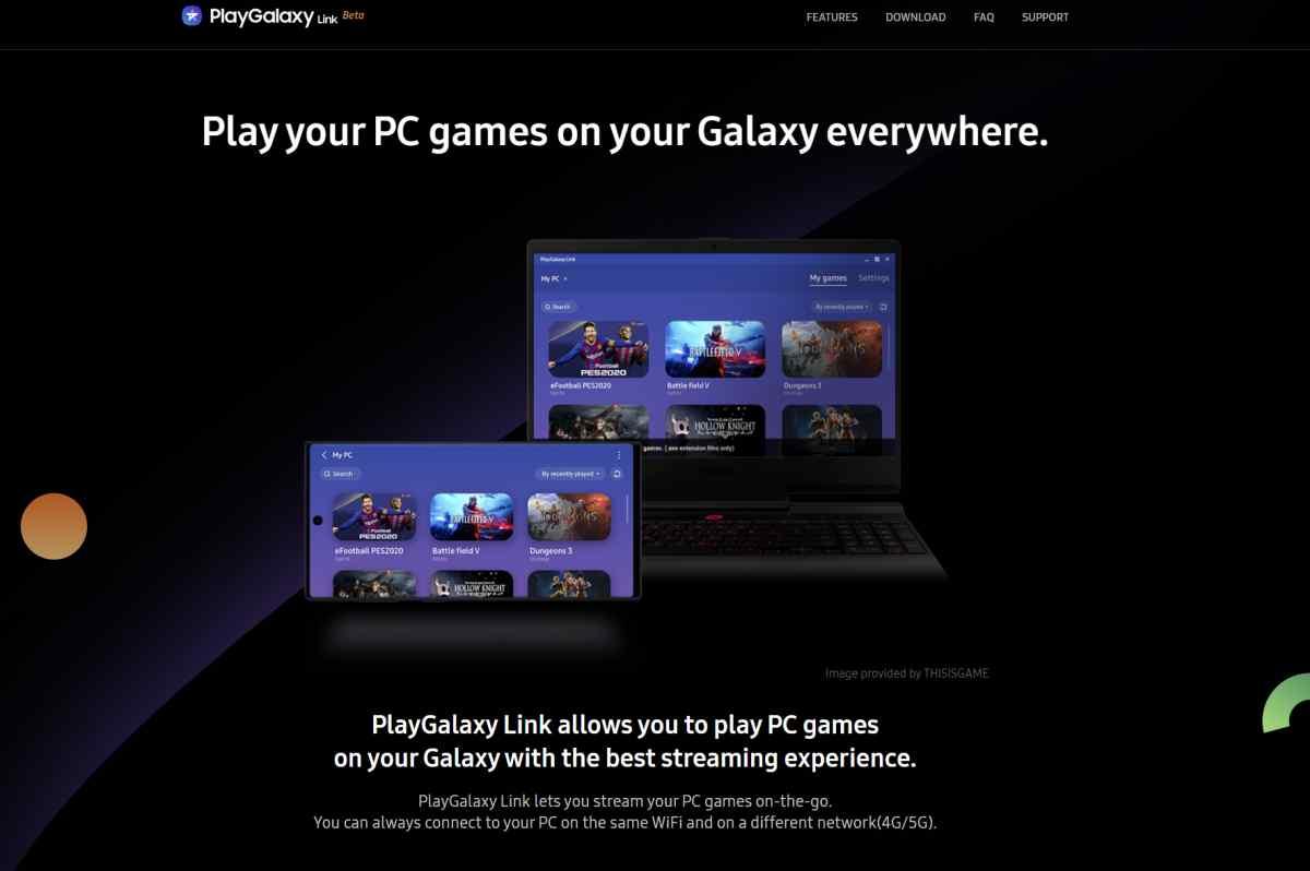 PlayGalaxy Link, el servicio de transmisión de juegos de Samsung, se expande a más teléfonos y a otros mercados