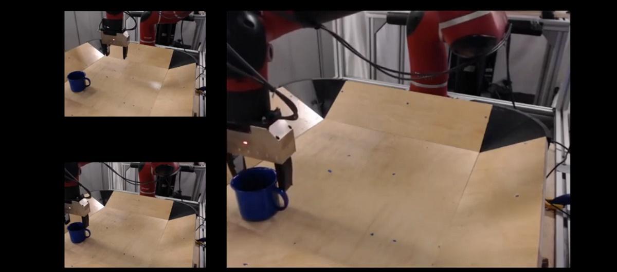 Robots podrán aprender de otros robots con solo ver vídeos, así funciona RoboNet