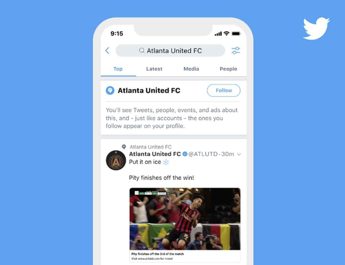 Llega Temas, la nueva función de Twitter que facilita el seguimiento de lo que interesa