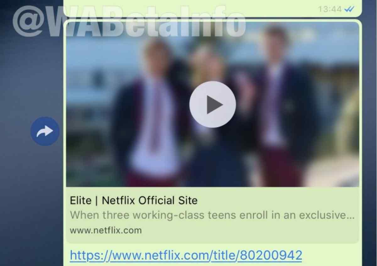 WhatsApp en iOS ya permite ver los trailers de contenidos en Netflix