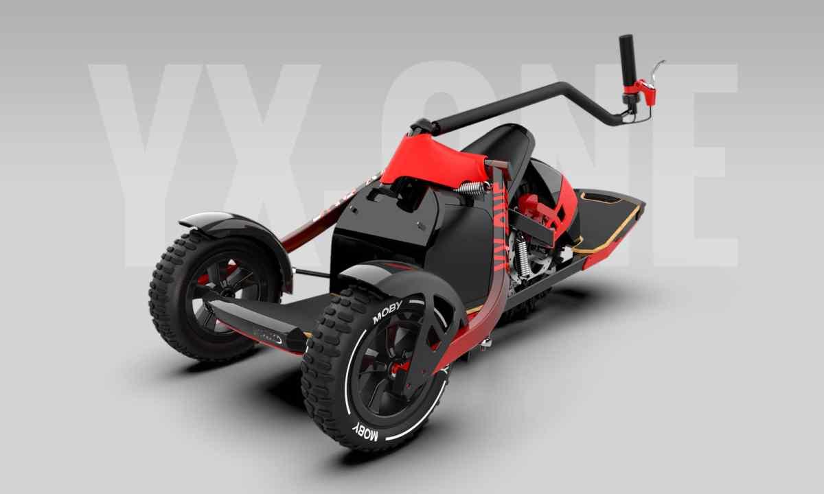 YX One, un tipo de vehículo eléctrico todoterreno que no dejará indiferente a los más aventureros