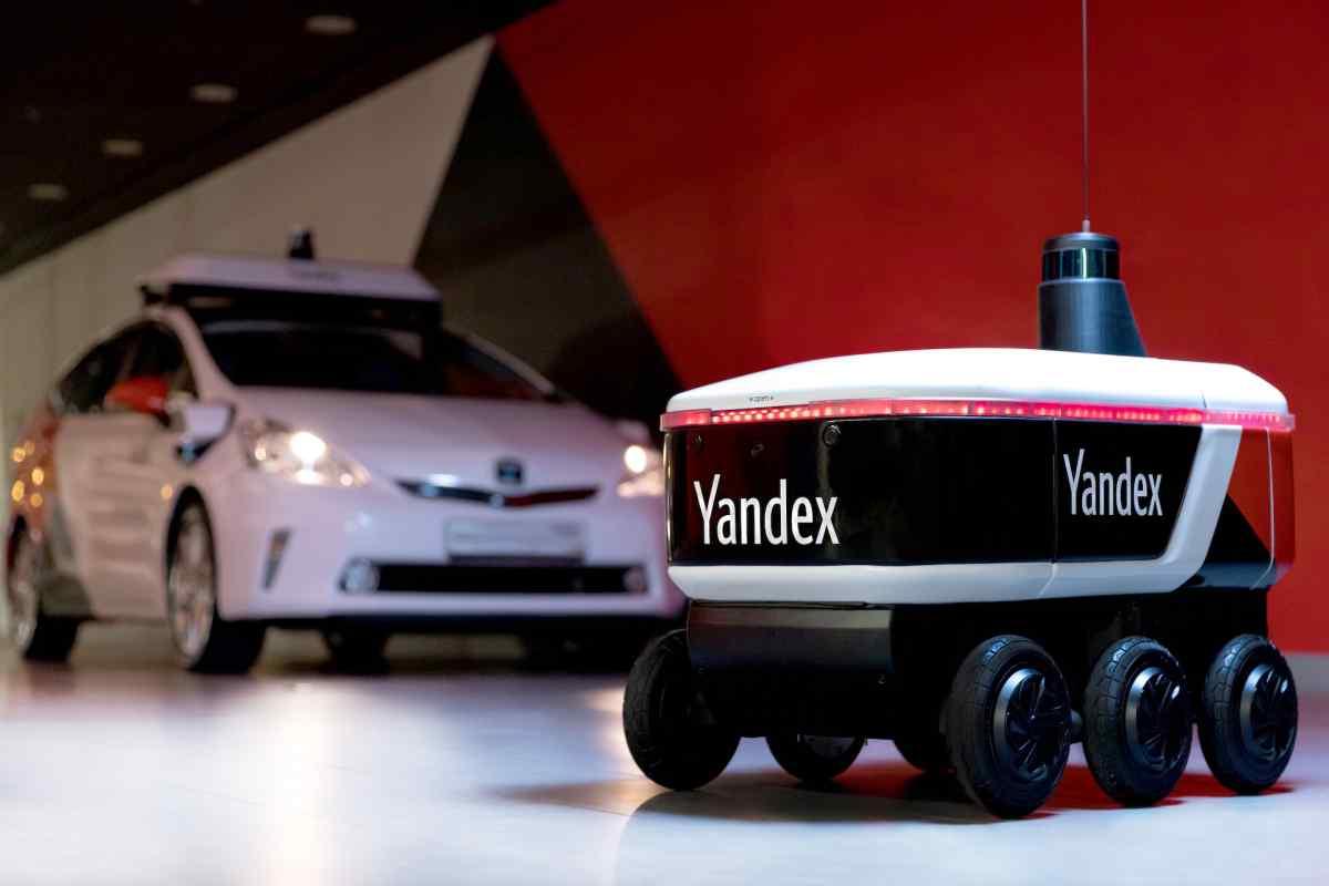 Yandex comienza a probar sus nuevos robots de entrega autónomos
