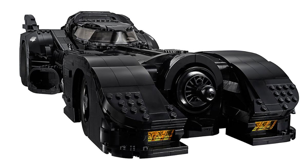 Así es el Batmóvil creado por Lego compuesto de 3306 piezas