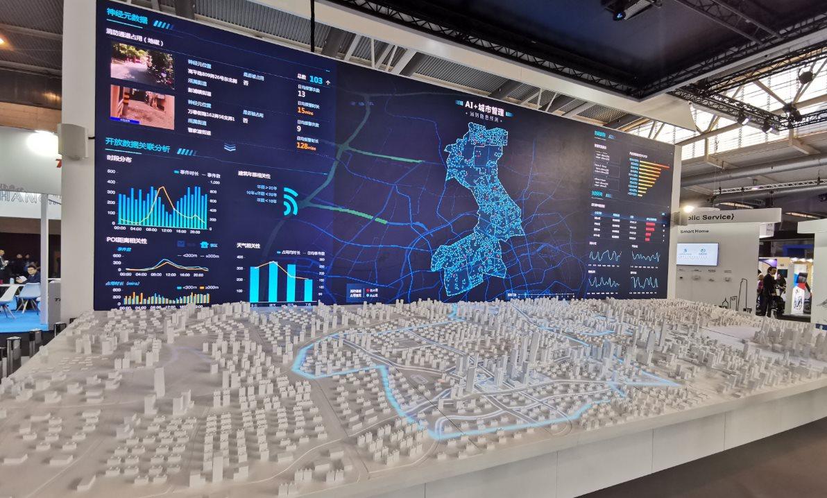 Shanghái muestra su poder en la Expo de Ciudades Inteligentes de Barcelona  #SCEWC19
