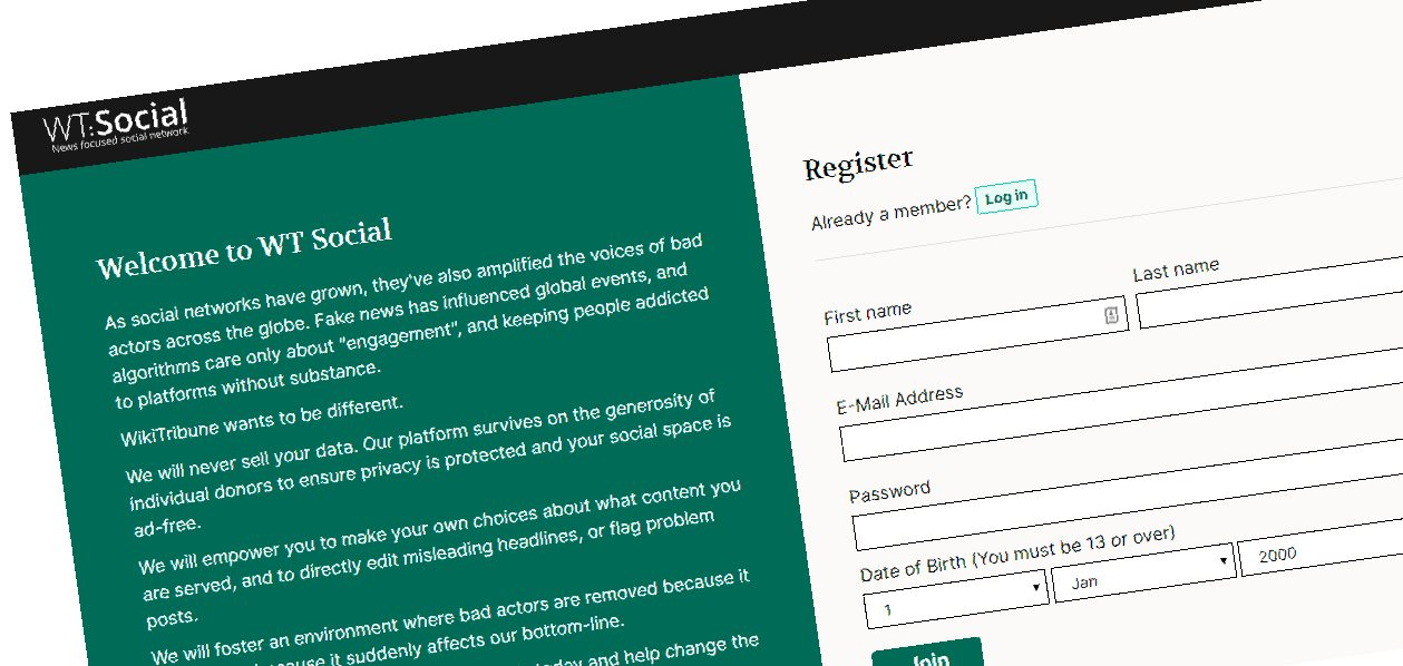 Cofundador de Wikipedia lanza red social para combatir noticias falsas