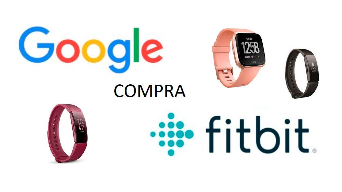 Google compra Fitbit, lo que afectará a más de 28 millones de personas