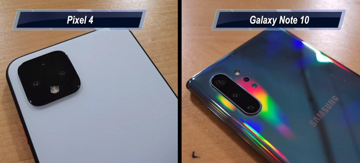 Comparamos la cámara del Pixel 4 con la del Samsung Galaxy Note 10, al detalle