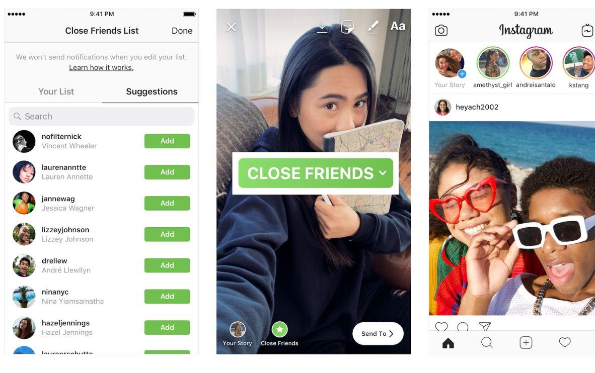 Facebook prepara función de «amigos cercanos» para su Messenger