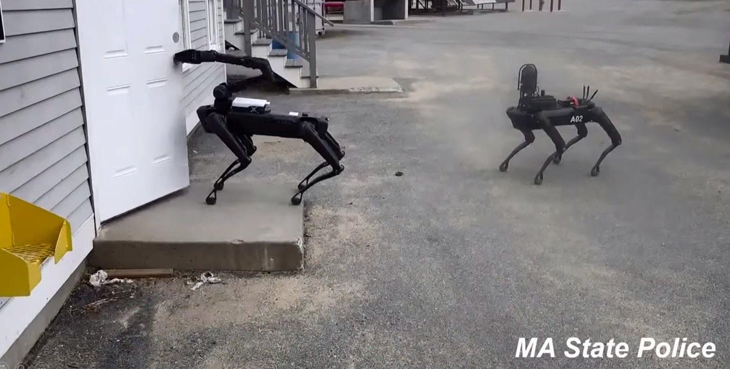 El perro robot ya está siendo usado por la policía