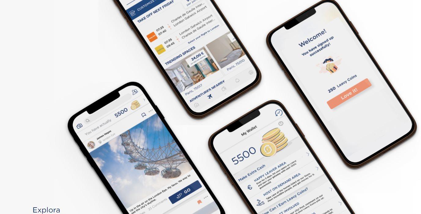 leavy, la app de viajes para millennials, consigue inversión millonaria