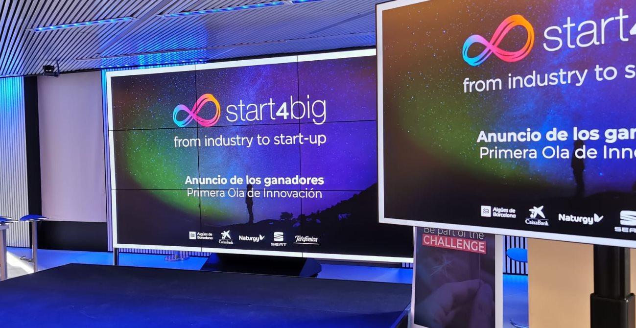 Las 5 startups innovadoras ganadoras del Start4Big