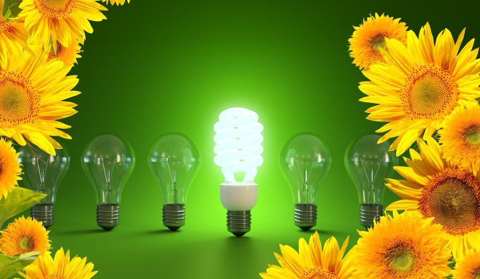 Pequeños girasoles falsos para generar energía con el Sol