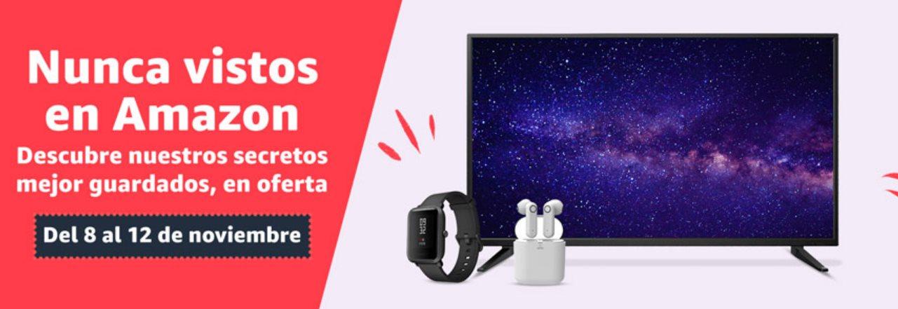 Amazon España lanza «Nunca vistos» nueva sección de superofertas para ir abriendo boca