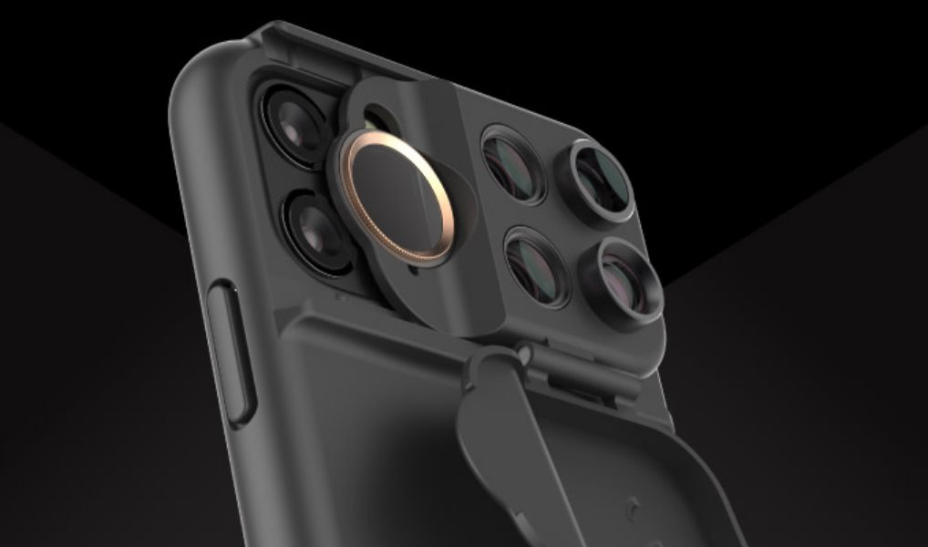La funda para iPhone que ofrece múltiples lentes