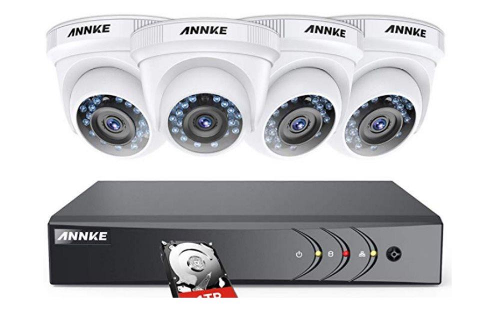 ANNKE Kit – Instalamos y probamos su sistema de seguridad de 4 cámaras