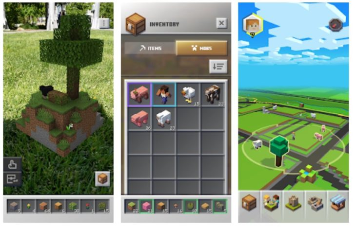 Minecraft Earth ya disponible también en Estados Unidos