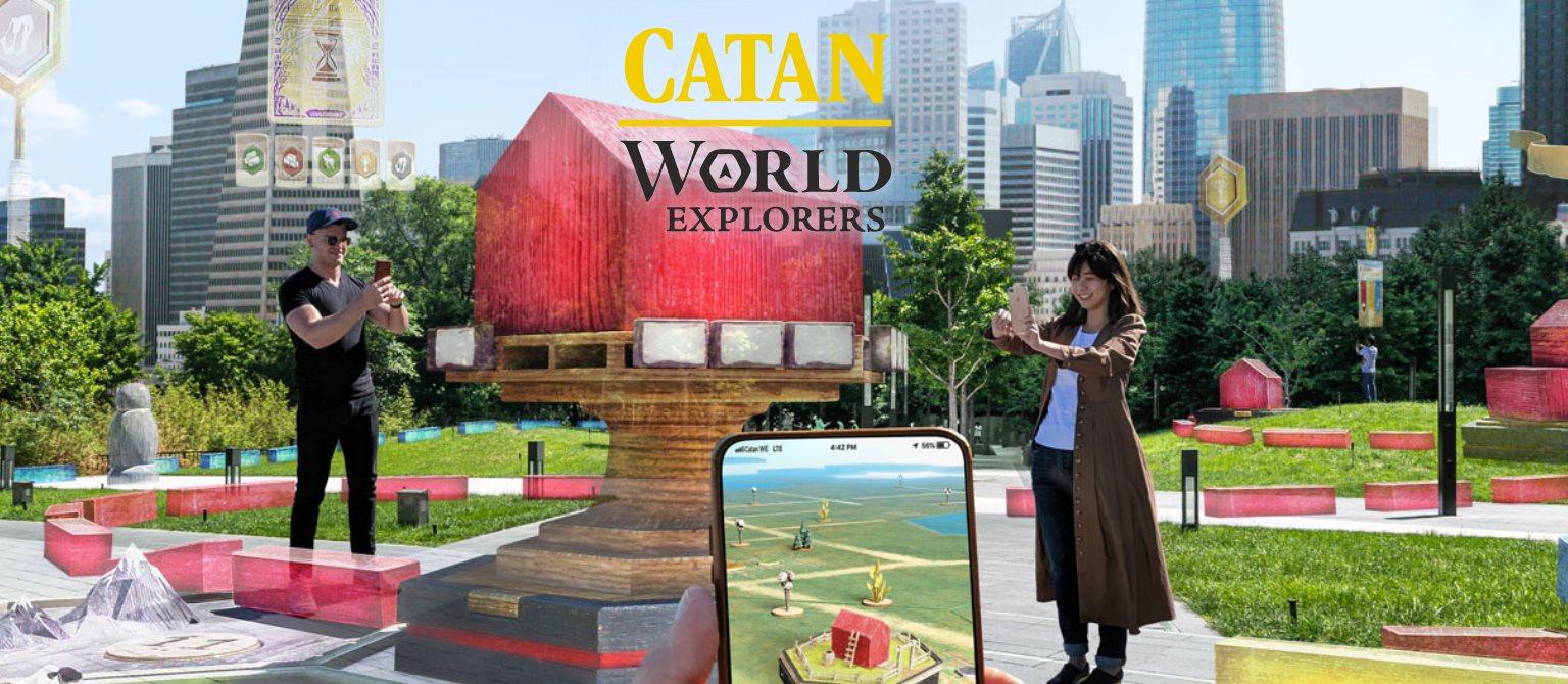 Se acerca una versión de Catan con Realidad Aumentada, y es de Niantic