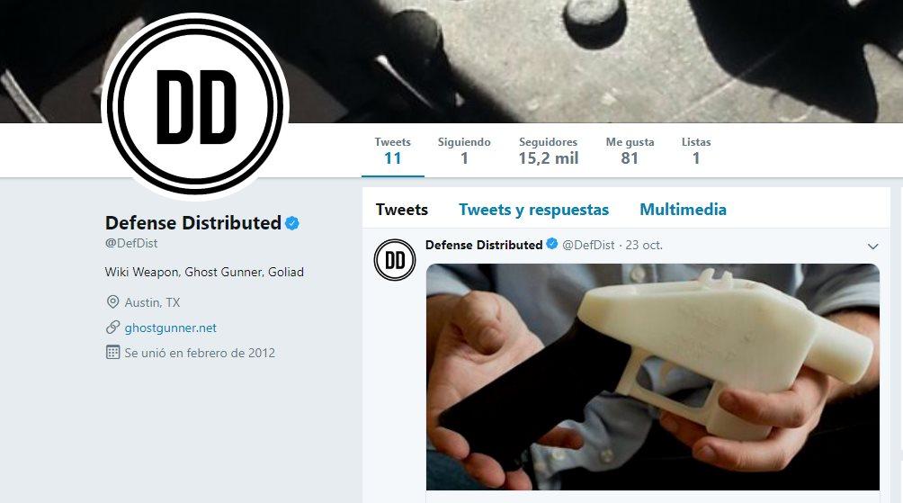 Rechazada la petición para permitir planos de armas 3D en Internet