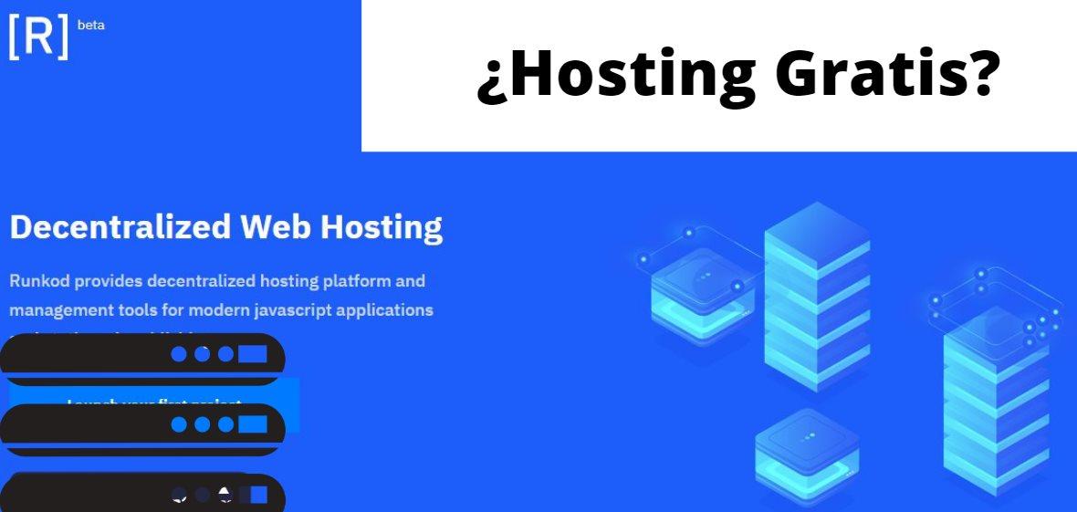 Runkod, para tener hosting gratis descentralizado
