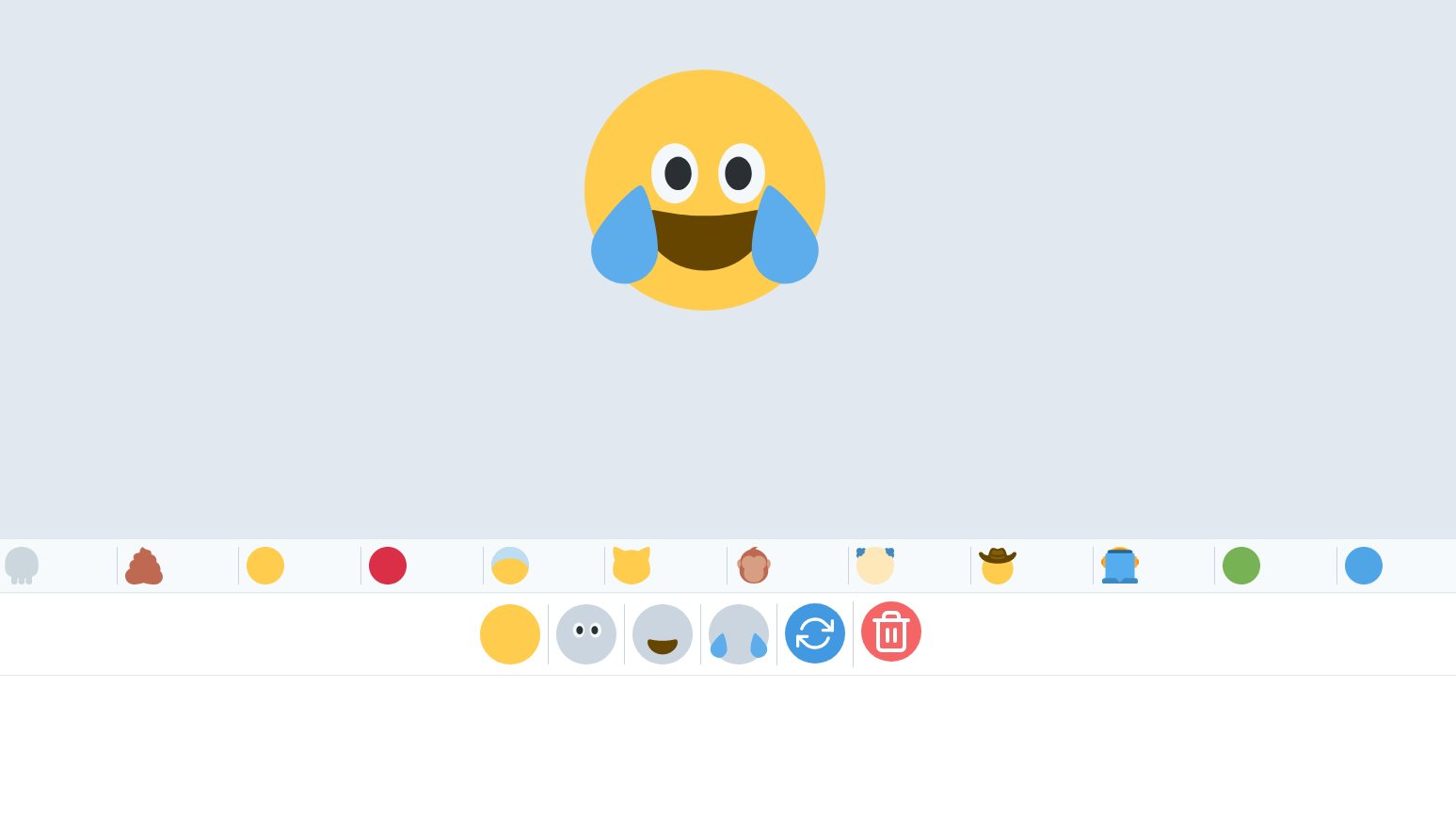 Un creador de emojis con miles de opciones