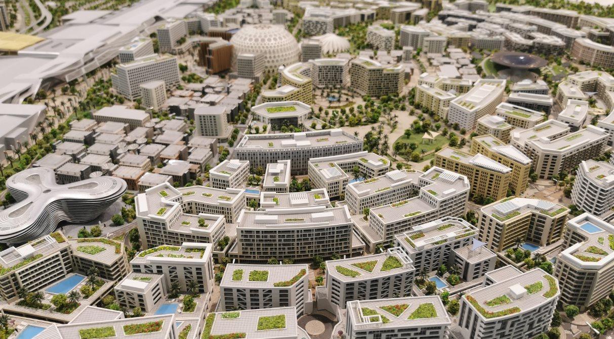 maqueta Dubai 2020