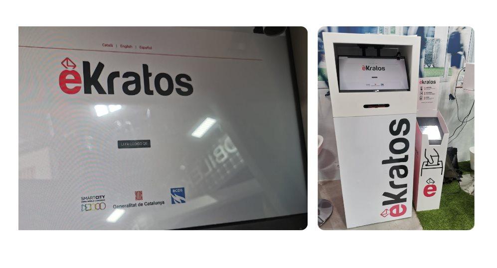 éKratos presenta Urnas para votar electrónicamente, creadas en España y compatibles con móviles