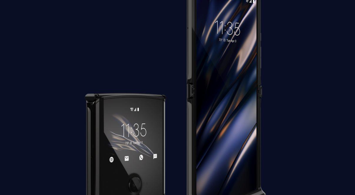 Razr, el móvil plegable de Motorola