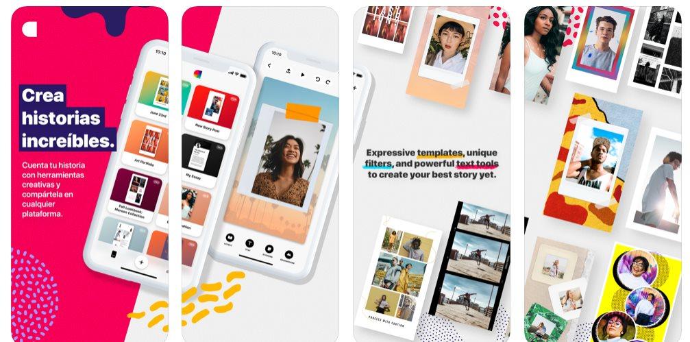 Exempleados de Instagram desarrollaron Chroma Stories, para crear Historias