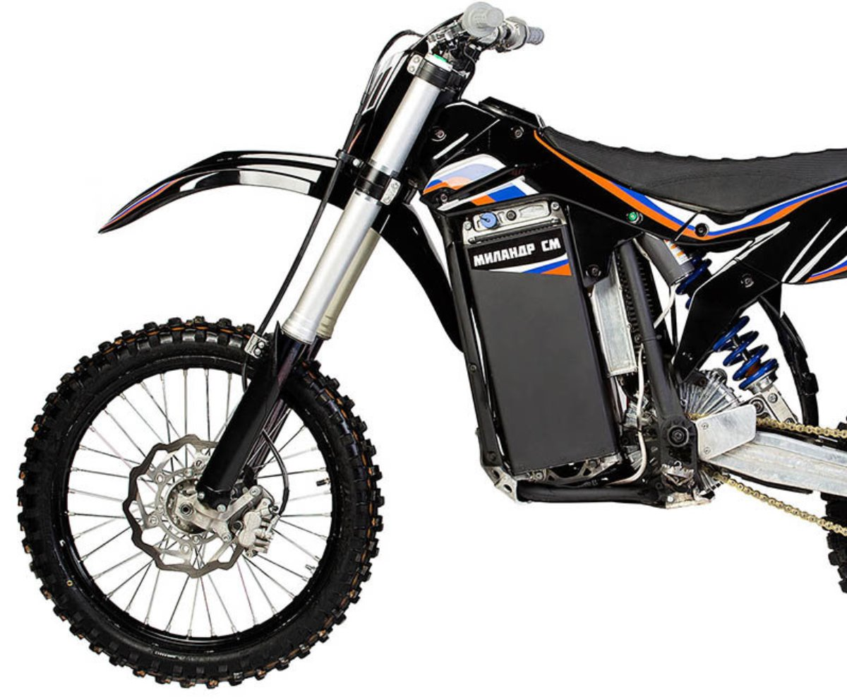 Milandr SM-250: La moto eléctrica que puede ir debajo del agua