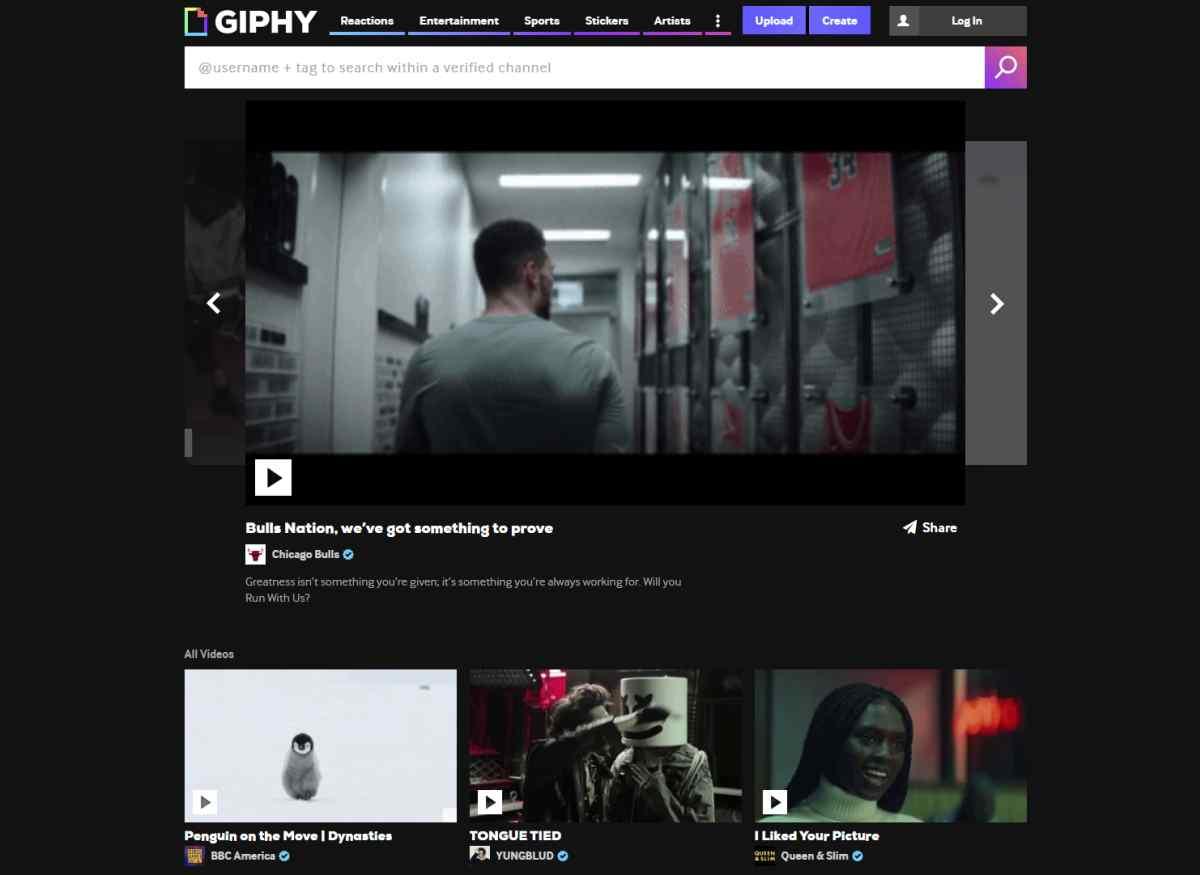 Giphy lanza su propia plataforma de vídeos cortos para compartir como memes