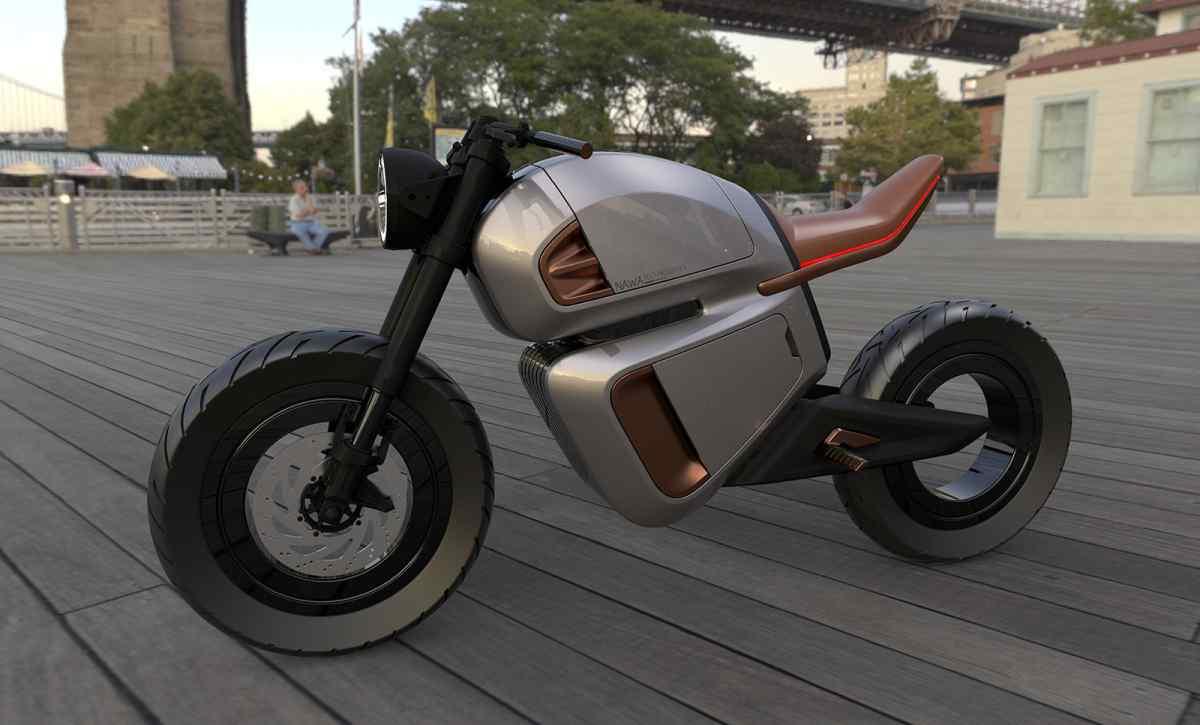 Compañía de ultracondensadores crean motocicleta eléctrica para mostrar las capacidades de los mismos
