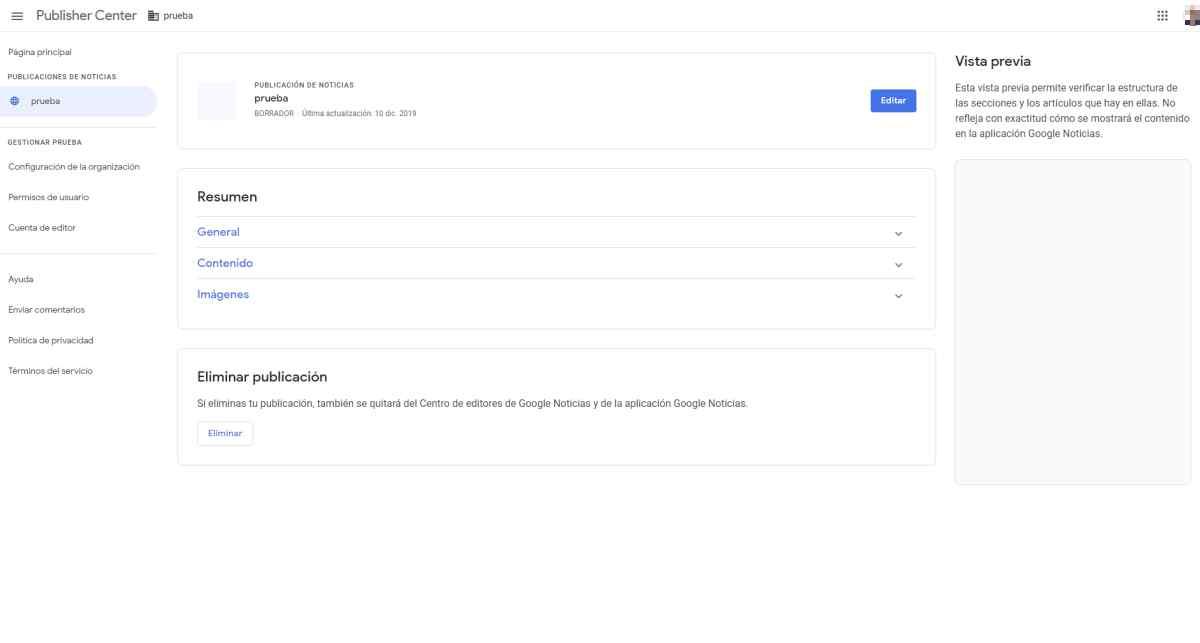 Llega el nuevo Centro de editores para gestionar la presencia de sitios web en los servicios de Google