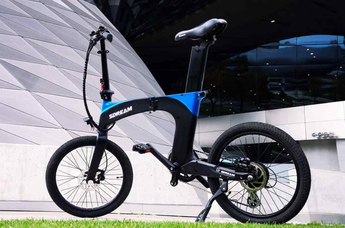 SDREAM Ur: bicicleta eléctrica futurista, ligera, robusta, plegable e inteligente que busca financiación