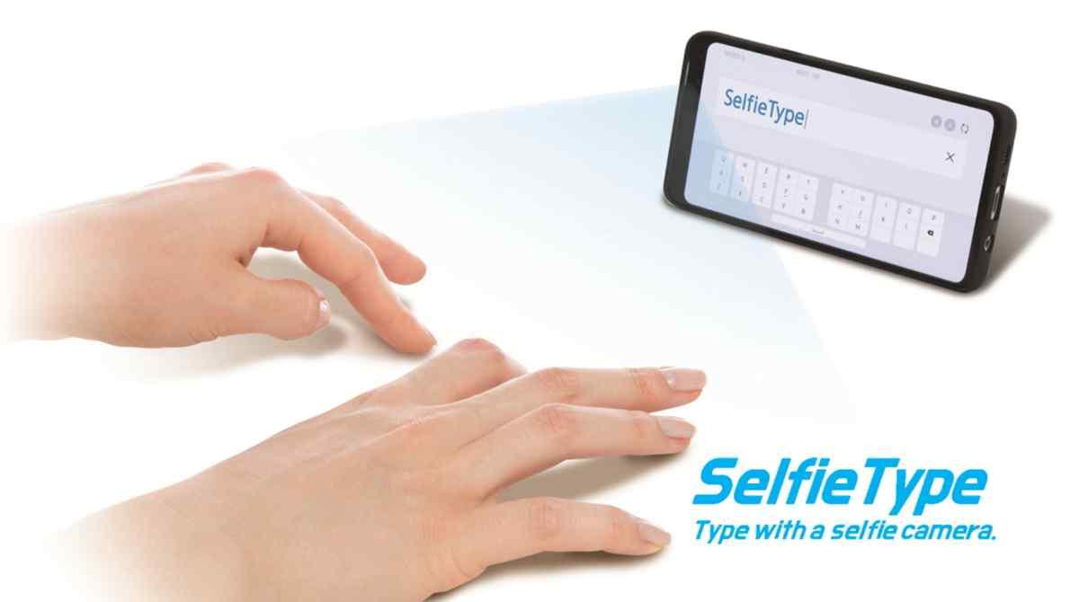 Samsung presentará un innovador sistema de teclado virtual fuera de pantalla en el CES 2020