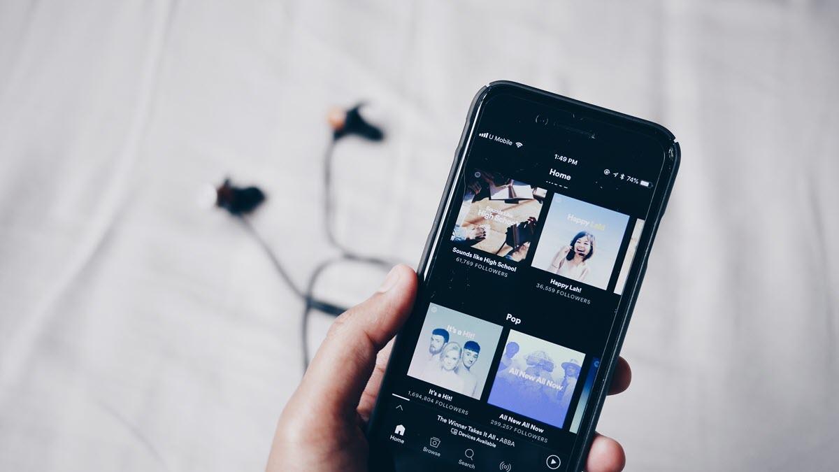 Spotify lanza la función de temporizador en iOS