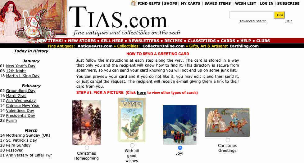 Tias postales navidad