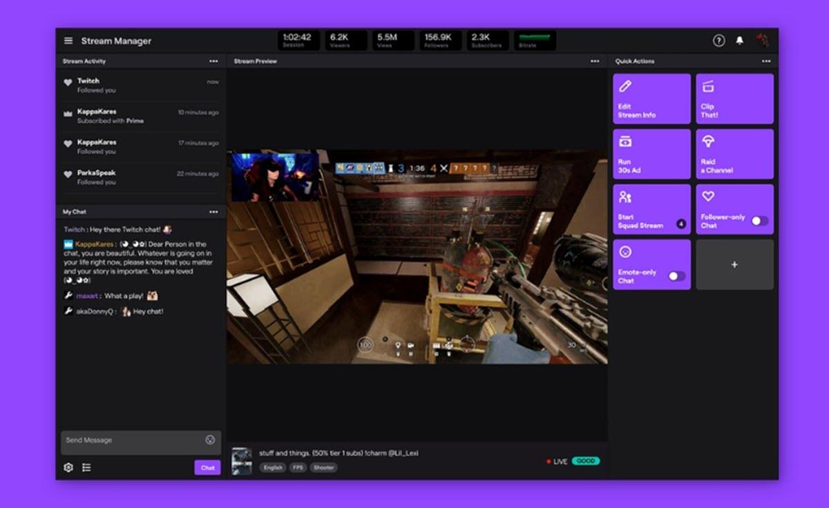 Twitch añade nuevas funciones para facilitar las transmisiones