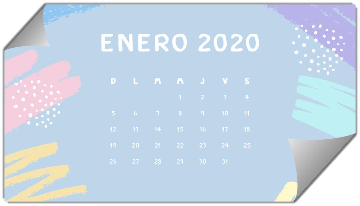 Más de 100 diseños de calendarios 2020 para descargar gratis