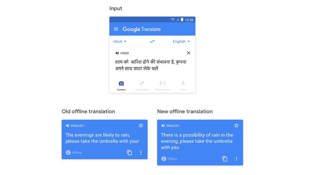 La traducción offline de Google recibe una gran mejora