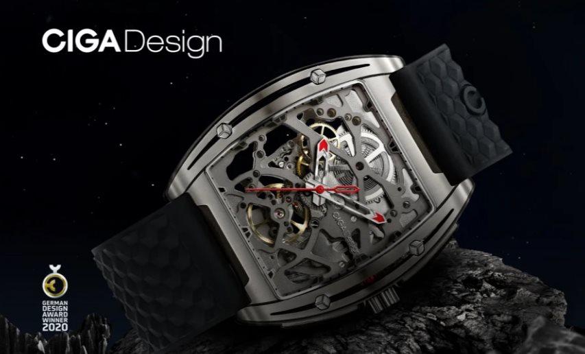CIGA presenta un impresionante reloj que apuesta por la transparencia y no necesita pilas