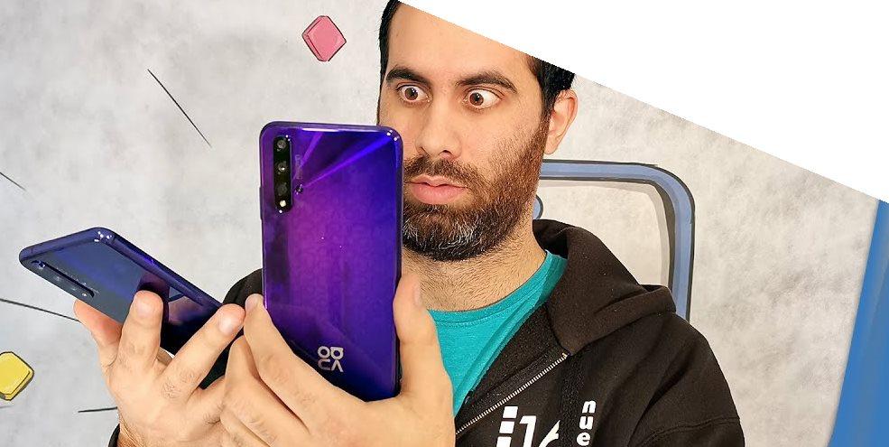 El Huawei Nova 5T y el Honor 20 son EXACTAMENTE iguales. Lo mostramos en vídeo.
